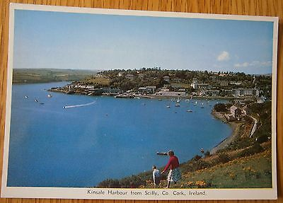 Kinsale Harbour from Scilly Postcard  Co. Cork Ireland