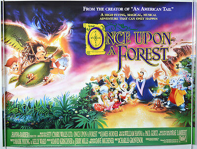 ONCE UPON A FOREST (1993) Original Cinema Quad Film Poster - Michael Crawford