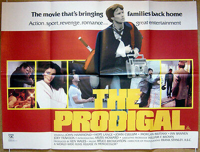 THE PRODIGAL (1983) Original Cinema Quad Film Poster - John Hammond, John Cullum