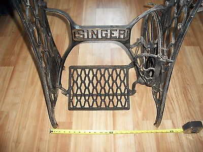 Vintage Singer Treadle Sewing Machine Cast Iron Base Stand