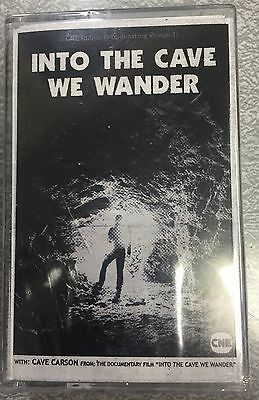 Into The Cave We Wander Cave Carson Has a Cybernetic Eye Promo Cassette Tape NEW