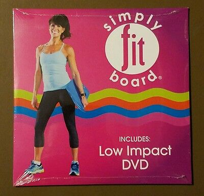 DVD Simply Fit Board Low Impact Workout NEW in shrink-wrap Shipped FAST