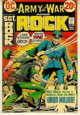 OUR ARMY AT WAR #251 (DC Comics, 1972) ~ SGT ROCK