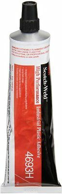 3M 4693H Clear High Performance Industrial Plastic Adhesive, 5 Ounce...NEW
