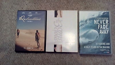 3 Bodyboard DVD's. 3 Conscious Project,Never Fade Away,Relocations. Bodyboarding