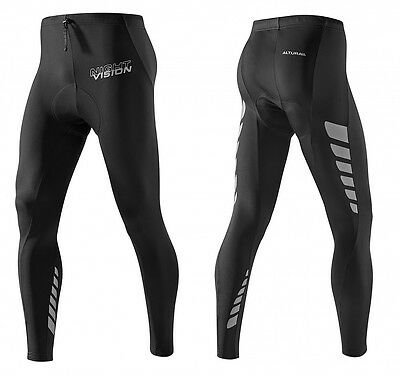 Altura Night Vision Women's Cycling Waist Tights . Highly Reflective. Size 14
