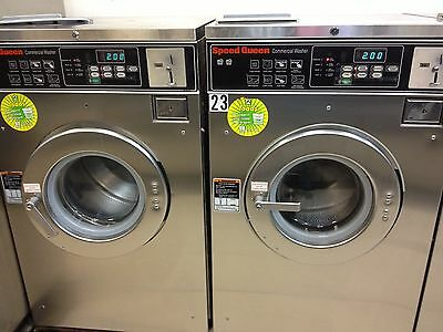 Speed Queen Double Load Washer Coin Laundry Laundromat