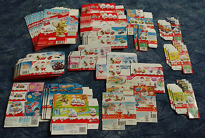 Posten leerer Packs aus CHINA, INDIEN, MEXIKO, TAIWAN, BRASILIEN, etc