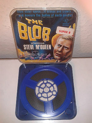 THE BLOB - STEVE McQUEEN - CLASSIC SCIENCE FICTION - Super 8mm SILENT Film Movie