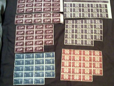 100+ Romania Fine Used Cancelled To Order Stamps In Blocks.
