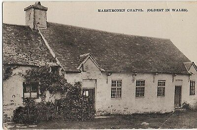 Postcard Maesyronen Chapel (Oldest In Wales) Hay On Wye Herefordshire