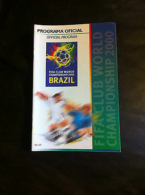 FIFA CLUB WORLD CHAMPIONSHIP 2000 inc MANCHESTER UNITED REAL MADRID IN BRAZIL
