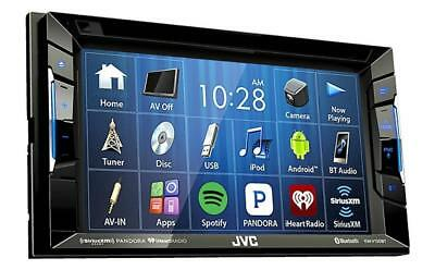 JVC KW-V140BT Replaces JVC KW-V130BT Double Din BT In-Dash DVD/CD/AM/FM Stereo