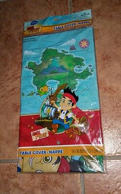Jake and the Never Land Pirates 54 x 96 Table Cover, NEW