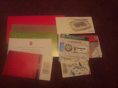 Selection of 6 Match Tickets