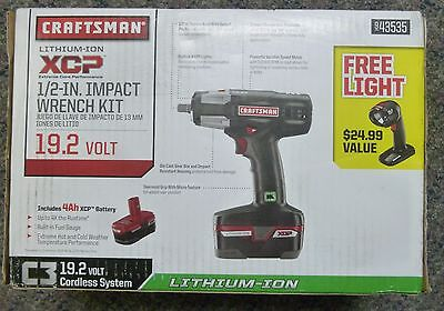 "Craftsman XCP 1/2"" Impact Wrench 9-43535 19.2V"