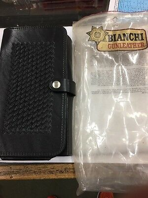Vintage Genuine Police Citation Leather Ticket Book - Bianchi No Packaging