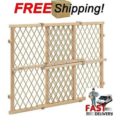 Evenflo Safety Gate Position and Lock Wood  Baby Child Infant  Pet Gate New