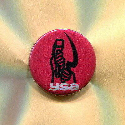 1960's Young Socialist Alliance  ANTI VIETNAM WAR CIVIL RIGHTS cause protest pin