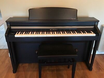 Kawai CA95 Digital Piano (Rosewood) and Piano Stool