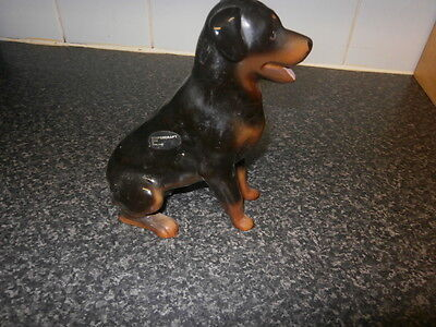 ROTTWEILER Figurine by COOPERCRAFT  Figurine Dog Ornament By Coopercraft