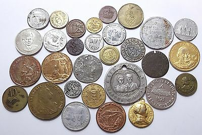 Lot of Various Medals, Tokens, etc.
