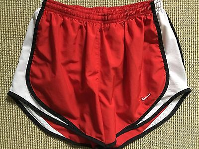 Nike Youth Dri-Fit Tempo Red Shorts - Size M