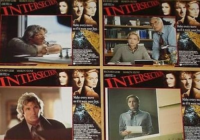 INTERSECTION - 11x14 US Lobby Cards Set - Sharon Stone, Richard Gere