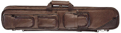 Pro Series LC5 4x8 Brown Pool Cue Case w/FREE shipping