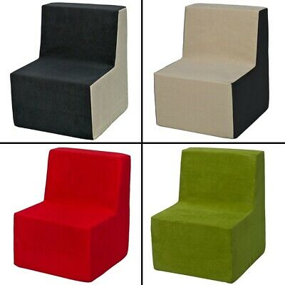 Soft Foam Chair, Kids, Children, Comfy, Seat, Nursery, Kids Furnitures, Play, Re