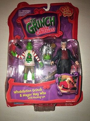 Dr Seuss How The Grinch Stole Christmas Whobilation Grinch & Mayor May Who NIP
