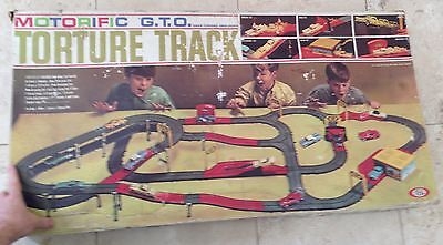 VINTAGE Ideal Motorific G.T.O. Torture Track - Complete with box, but no cars!