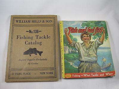 1936 William Mills & Son No 136, 1936 Fishing Tackle Catalog Fish and Feel Fit