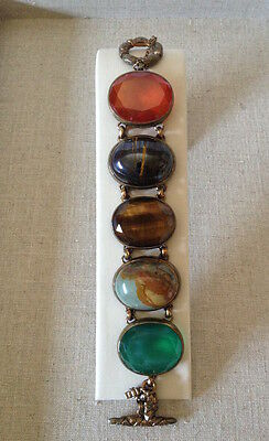 Stephen Dweck 5 Stone Mixed Collector's Bracelet