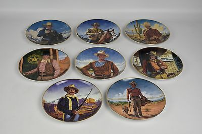 Franklin Mint John Wayne, Collector Plates, Limited Edition    FAST POST
