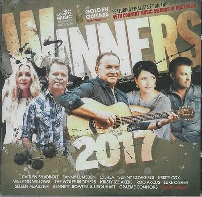 CMAA WINNERS 2017 - Various Artists 2CD *NEW* 2017 Australian Country