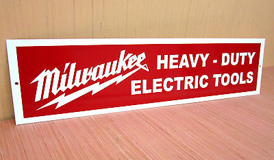 Milwaukee Heavy Duty Electric Tools Metal Sign Sawzall Grinder Cordless Drill