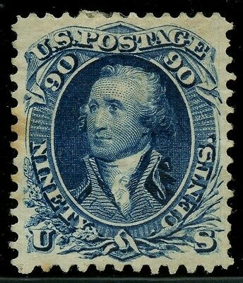 #111 Vf+ Unused Re-Issue 1875 Rare (Only 317 Made) W/ Pf Cert Cv $3,250 Wlm2639