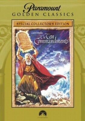 The Ten Commandments [DVD] - DVD  22VG The Cheap Fast Free Post