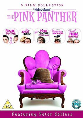 The Pink Panther Film Collection (5 Disc Box Set) [DVD] [1976] - DVD  D6VG The
