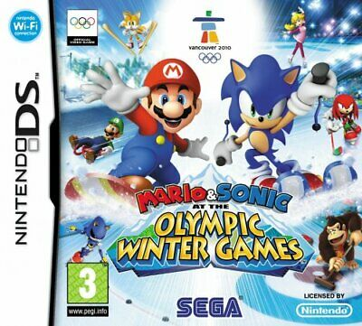 Mario & Sonic at the Olympic Winter Games (Nintendo DS) - Game  8IVG The Cheap