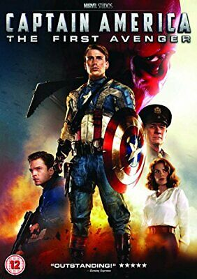 Captain America - The First Avenger [DVD] - DVD  08VG The Cheap Fast Free Post
