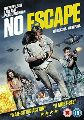 No Escape [DVD] [2015] - DVD  MOVG The Cheap Fast Free Post