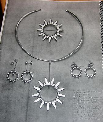 'THE' CATALOG OF NORWEGIAN JEWELRY w/PRICE LIST c1960-1970's TONE VIGELAND-D-A