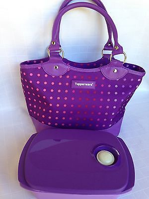 Tupperware Purple Out To Lunch Set Brand New