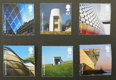 GB stamps - 2006 Modern Architecture