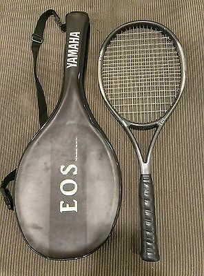 Yamaha EOS tennis racquet 4 5/8 grip 100 sq in stringbed, with bag!