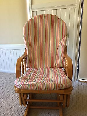 Rocking Chair Ideal For Breastfeeding