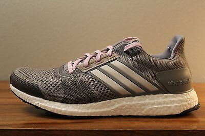 08620fcd2 13 New Rare Adidas Ultra Boost ST Women s Running Shoes Grey Sizes 9.5  AF6524