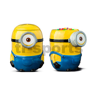 License 1x Despicable Me Minion Cookie Jar for Birthday Xmas Gift Best Surviver